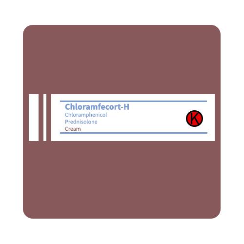 Chloramfecort-H chloramphenicol - prednisolone Cream