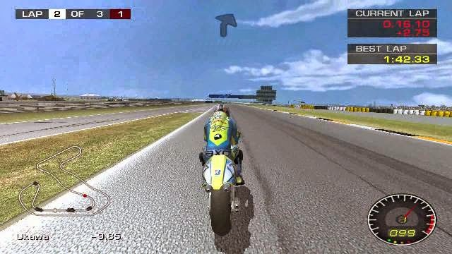 MotoGP 2 PC Games Gameplay