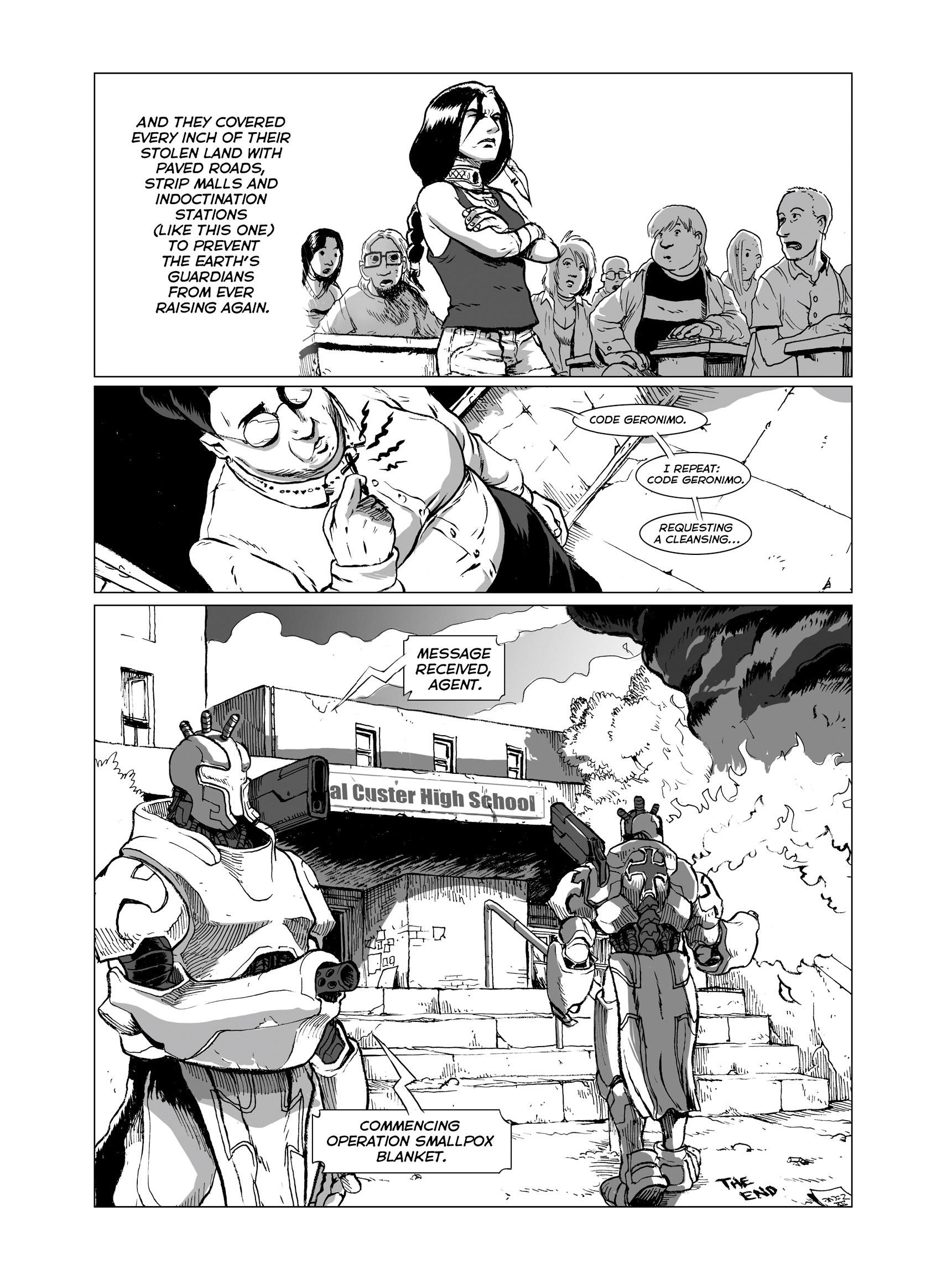 Read online FUBAR comic -  Issue #3 - 22