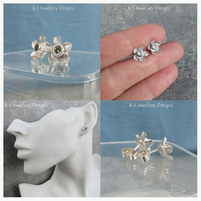 http://ksjewellerydesigns.co.uk/ourshop/prod_2984843-Peridot-Sterling-Silver-Flower-Stud-Earrings-Rustic-Flowers.html