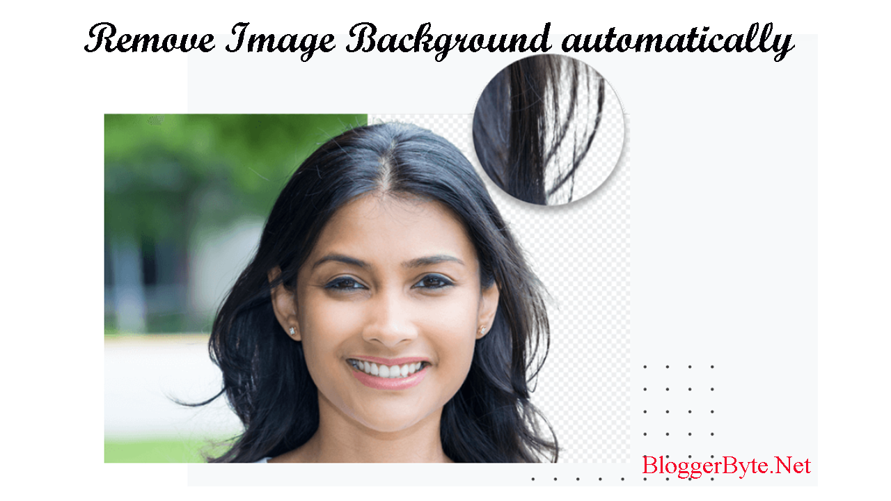 Remove Image Background: 100% automatically - One click - for free