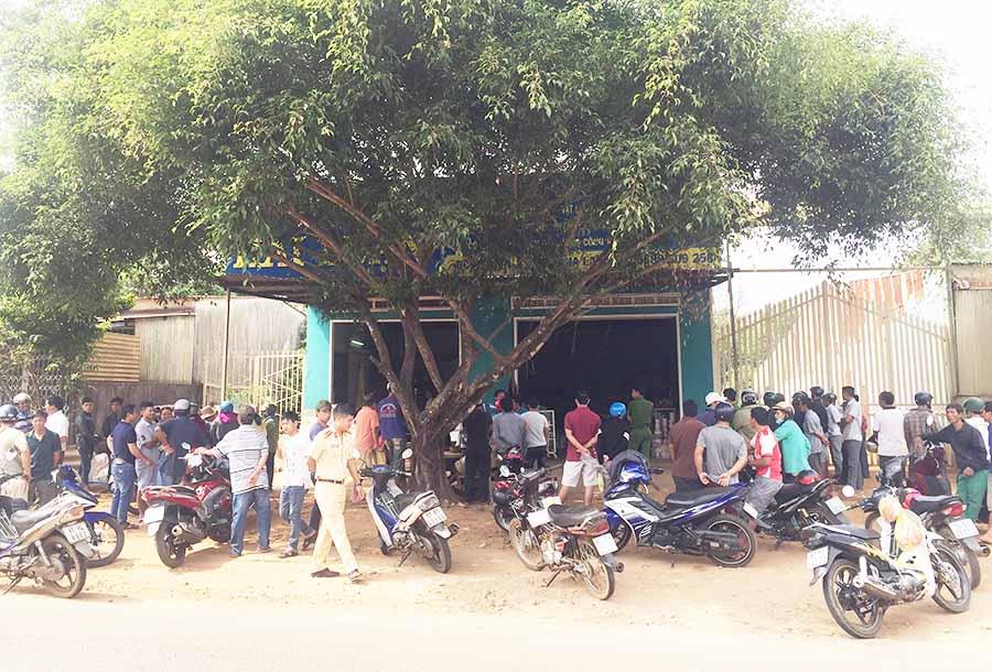 Gia Lai: Chủ cửa hàng vật liệt xây dựng bị giết giữa ban ngày