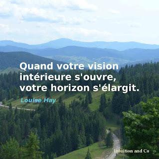 vision ouverture d'esprit, espace de vie et horizon s'élargissent