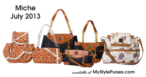 Miche July Shells 2013 Sneak Peek
