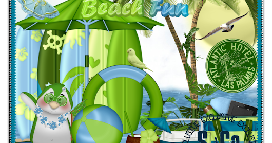 "New Kit in Store ""Coconut Beach"" PTU"
