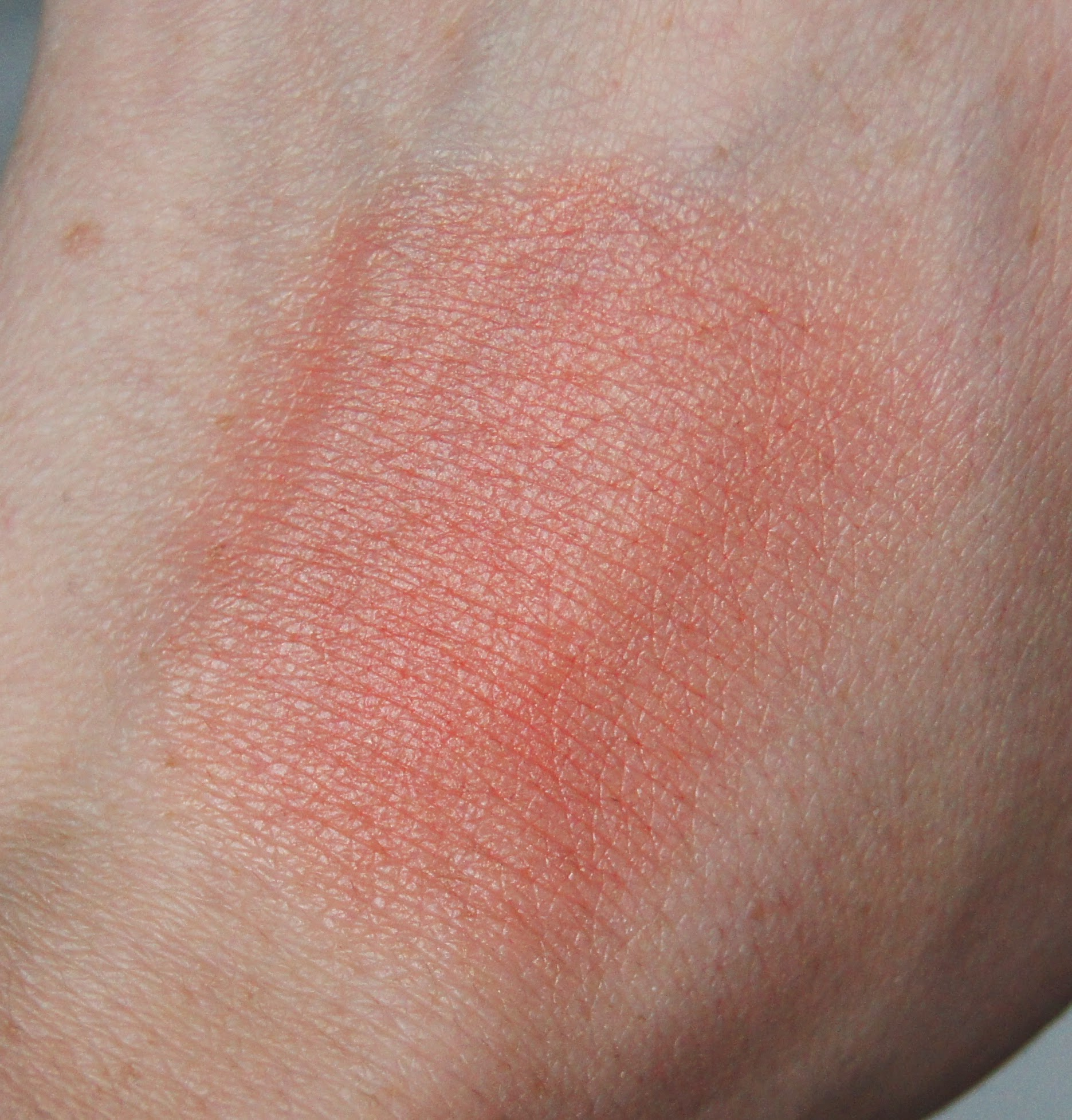 soap and glory onamatopeacha sexy mother blusher cream blush sticks blended out swatch