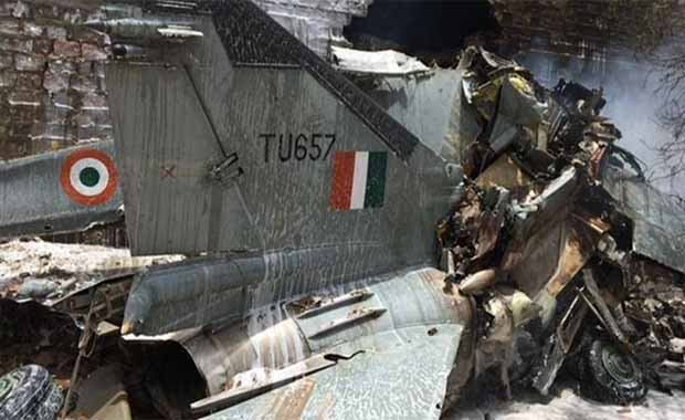 mig-27-fighter-jet-crashes-in-jodhpur-in-rajasthan-pilots-safe-in-hindi