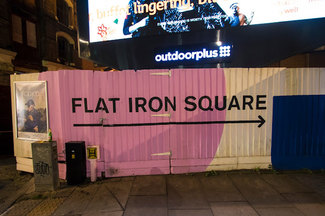 Flat iron sq.-Londra