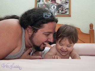 Marina con el papi