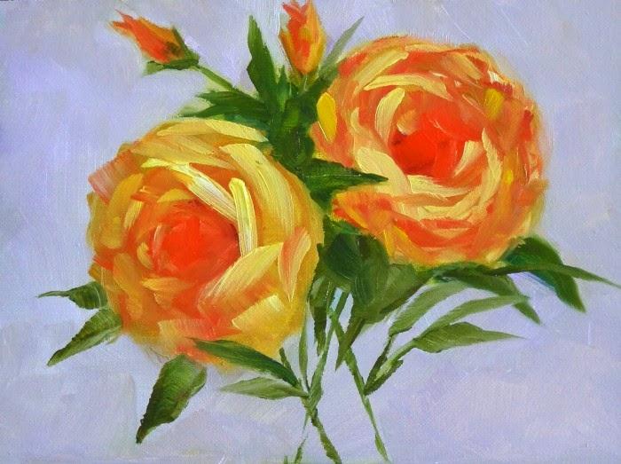 Масляная живопись. Carmen Beecher