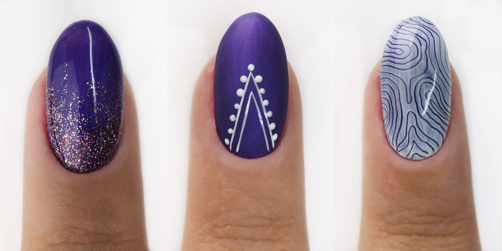 wzory na krótki paznokcie