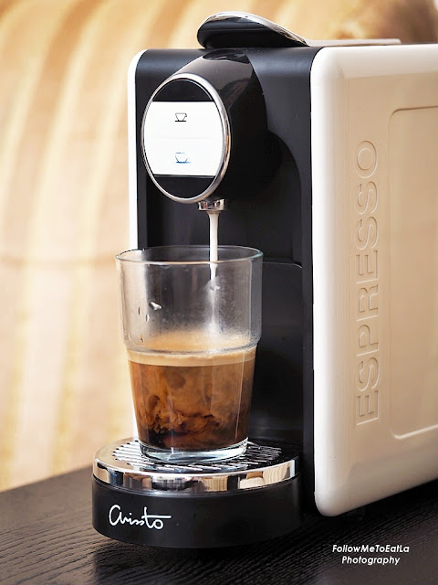 ARISSTO Capsule Coffee Machine Happy Maker  -  The Revolutionary Premium Coffee Maker