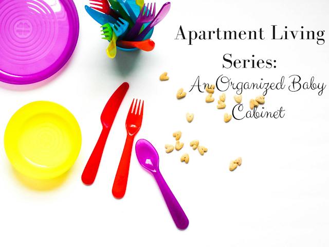 Apartment Organization Series: An Organized Baby Cabinet--gladiatorinawhitecoat.com
