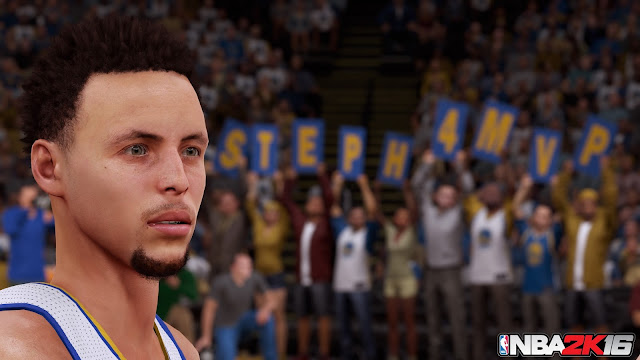 NBA 2K16 Steph Curry Screenshot