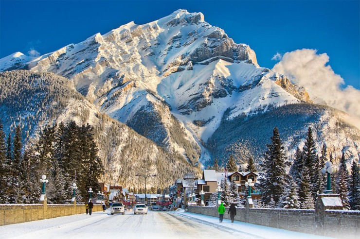 6. Banff, Canada - Top 10 Most Wintery Cities