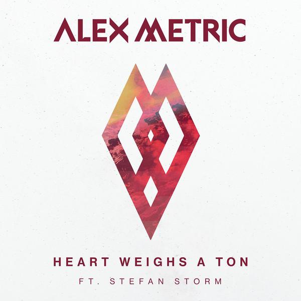 Alex Metric - Heart Weighs a Ton (feat. Stefan Storm) - Single Cover