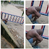 Half Naked Man Spotted In A Petrol Station At Oshodi Area Of Lagos. Photos
