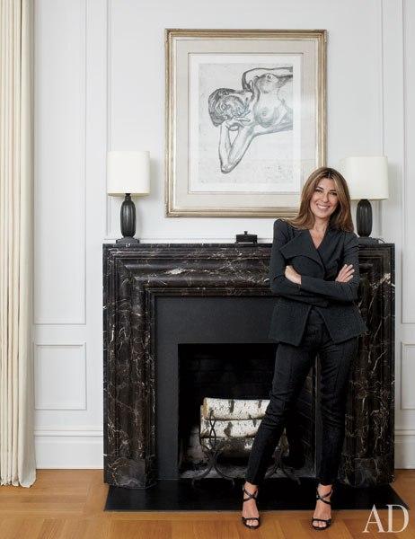 Nina Garcia in Architectural Digest