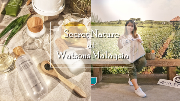 Secret Nature Now at Watsons Malaysia!!