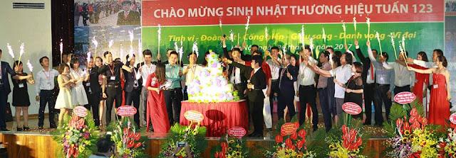 Lễ mừng sinh nhật thương hiệu Tuấn 123