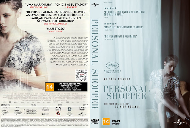 Capa DVD Personal Shopper [Exclusiva]