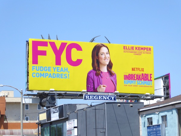 FYC Kimmy Schmidt season 2 billboard