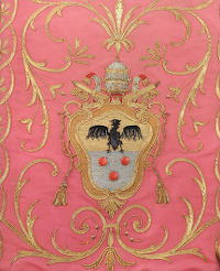 Rose Chasuble of Pius XI from the Papal Treasury