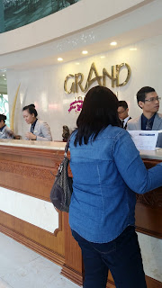 Grand Saigon Hotel reception area