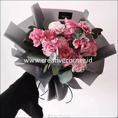 Kertas Buket Bunga / Hand Bouquet Seri HX-060060