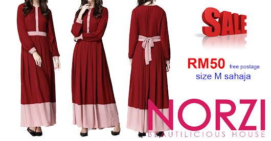RM50 FREE POSTAGE MATERNITY JUBAH NBH0449