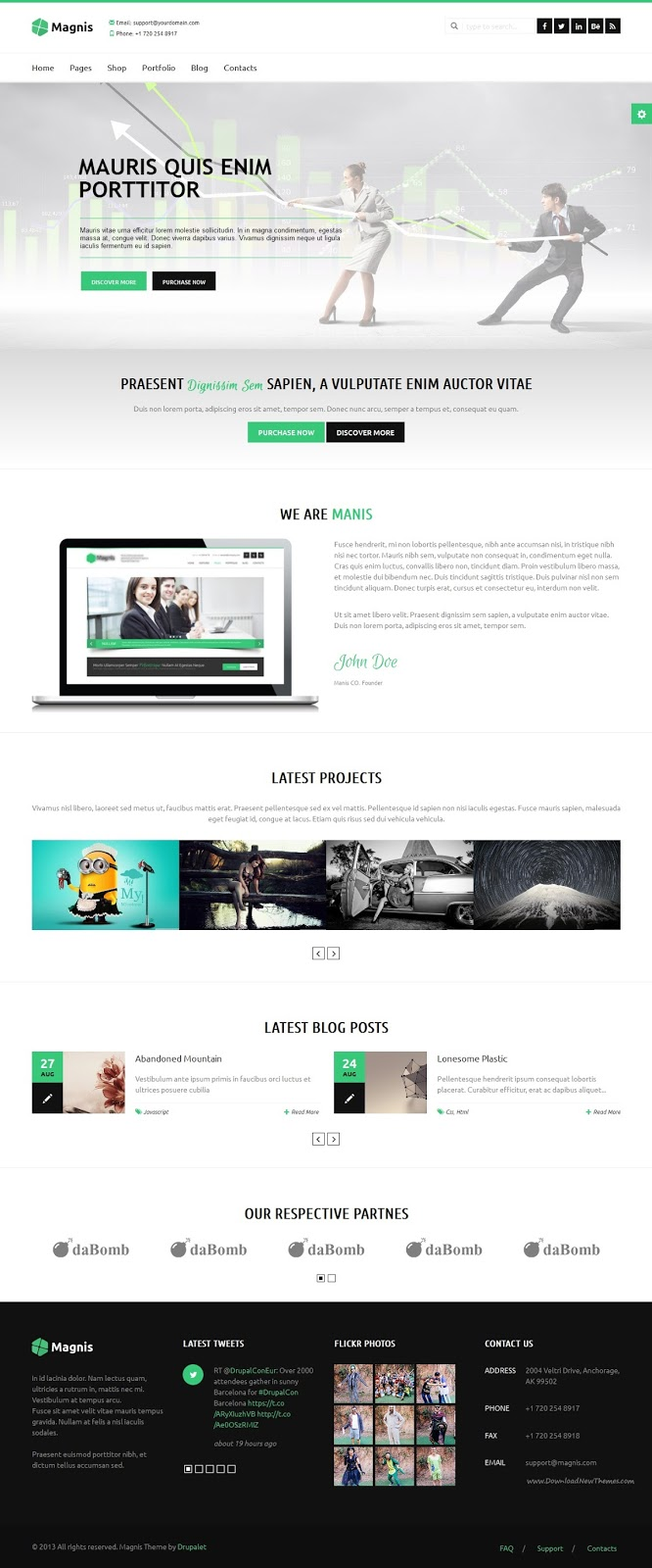 Best Multipurpose Drupal Theme