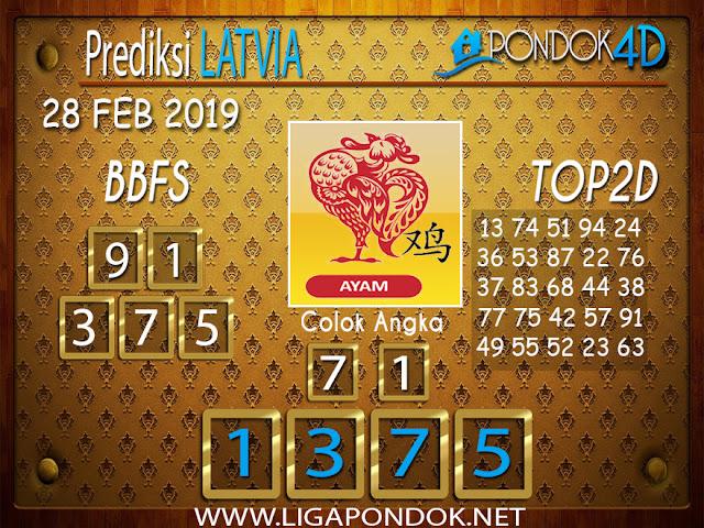 Prediksi Togel LATVIA PONDOK4D 28 FEBRUARI 2019
