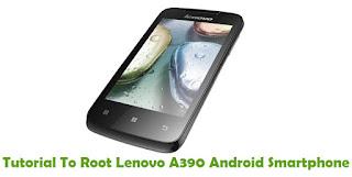 Root Lenovo A390