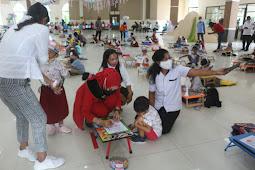 Widya Murad Ismail Gelar Lomba Menggambar dan Mewarnai Anak