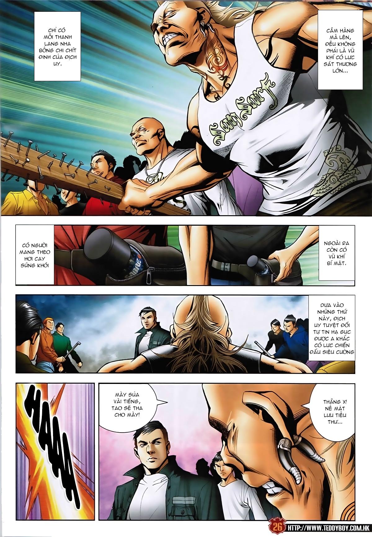 Người Trong Giang Hồ - Chapter 1589: Thu thập A Khắc - Pic 25