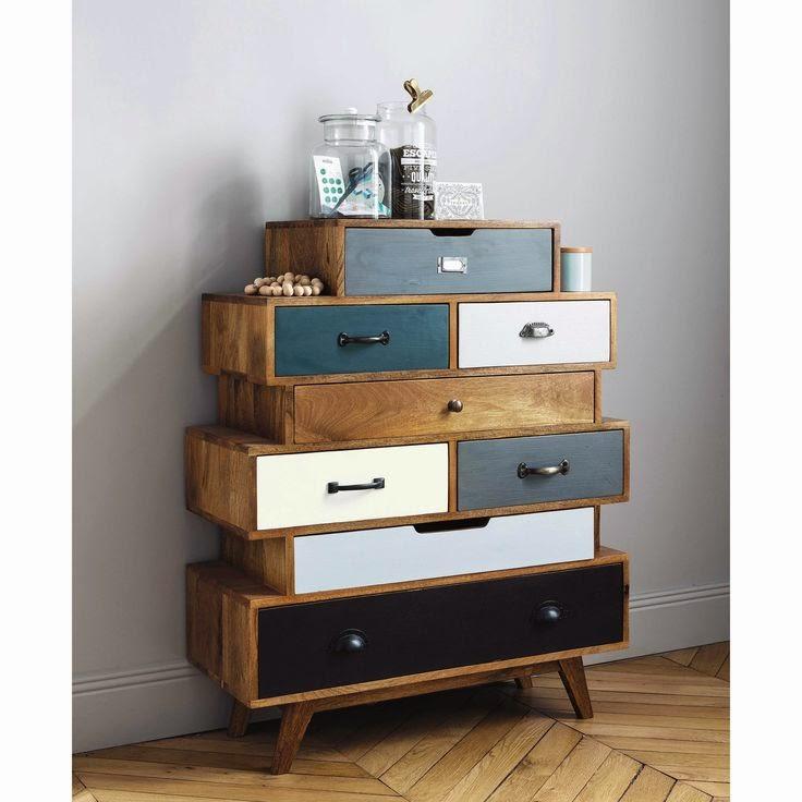 Michelle cabinets unstructured for Scrivania maison du monde