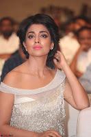 Shriya Saran in Stunning White Off Shoulder Gown at Nakshatram music launch ~  Exclusive (112).JPG