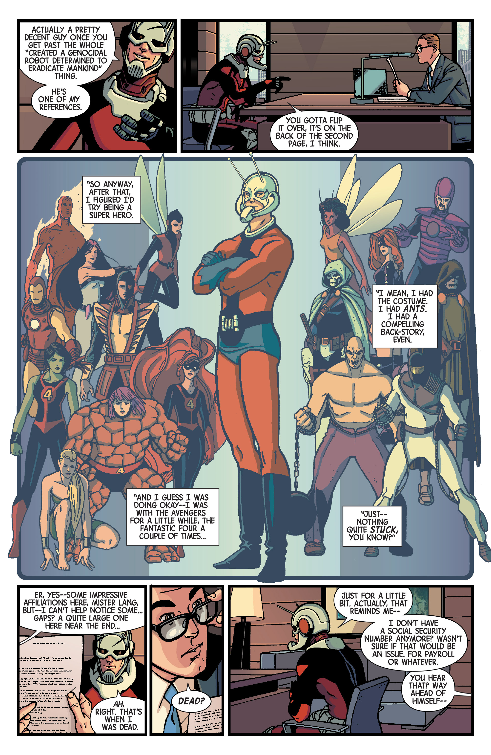 Read online Ant-Man comic -  Issue #1 - 11