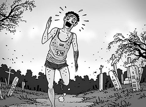 Silent Horror chap 89: Chạy vật vã