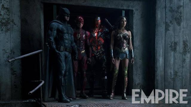 Nova Imagem de Liga da Justiça Mostra Equipe em Posição de Ataque!