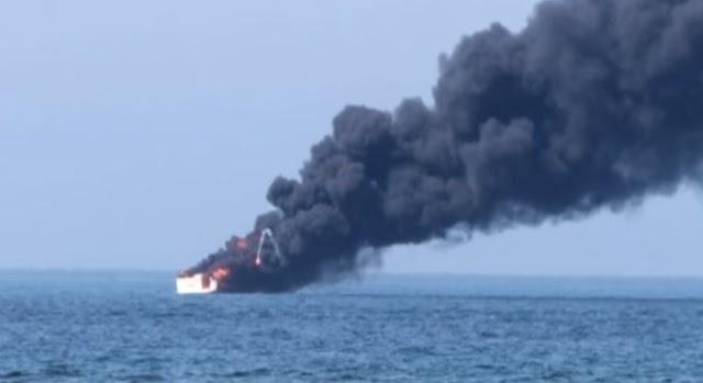 Friss! Robbanás történt egy balti-tengeri kompon, amin 337 ember utazott!