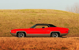 1972 Plymouth Satellite Sebring 318 Left Side Picture