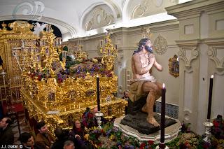 Resultado de imagen de traslado del Cristo de las Penas y la Virgen de la Estrella Sevilla