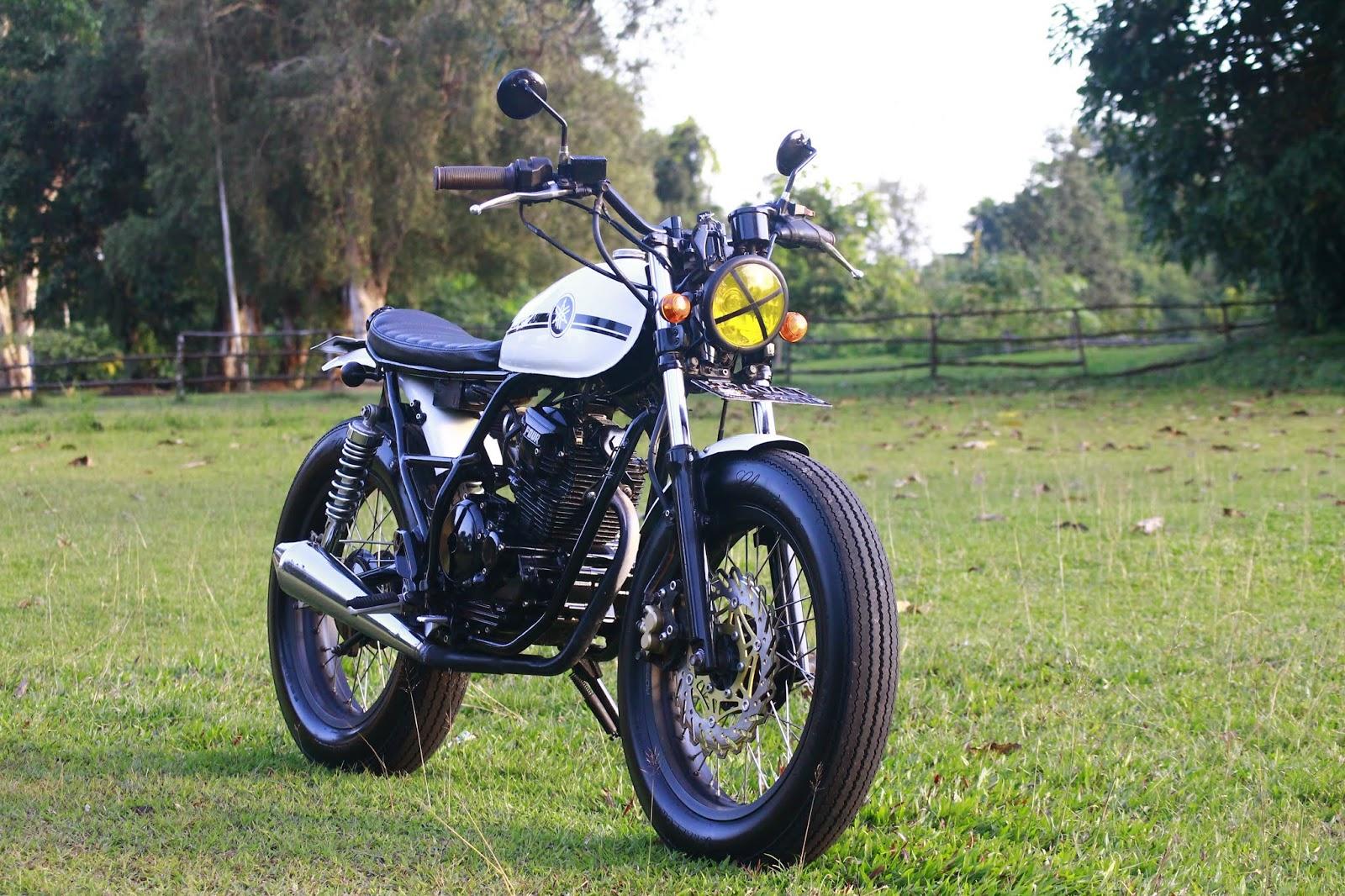 Modifikasi Yamaha Scorpio Motor Custom