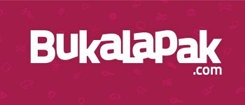 FIND US AT  BUKALAPAK.COM