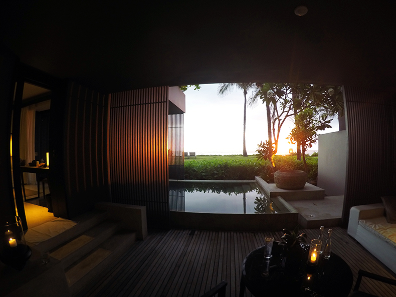 Euriental | fashion & luxury travel | Alila Soori, sunset, Bali