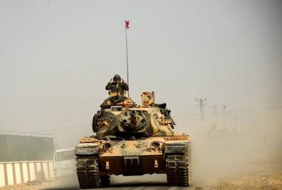 ဆီးရီးယားကို တူရကီစစ္တပ္ ဝင္ေရာက္