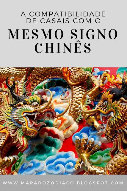 compatibilidade de casais com mesmo signo chinês