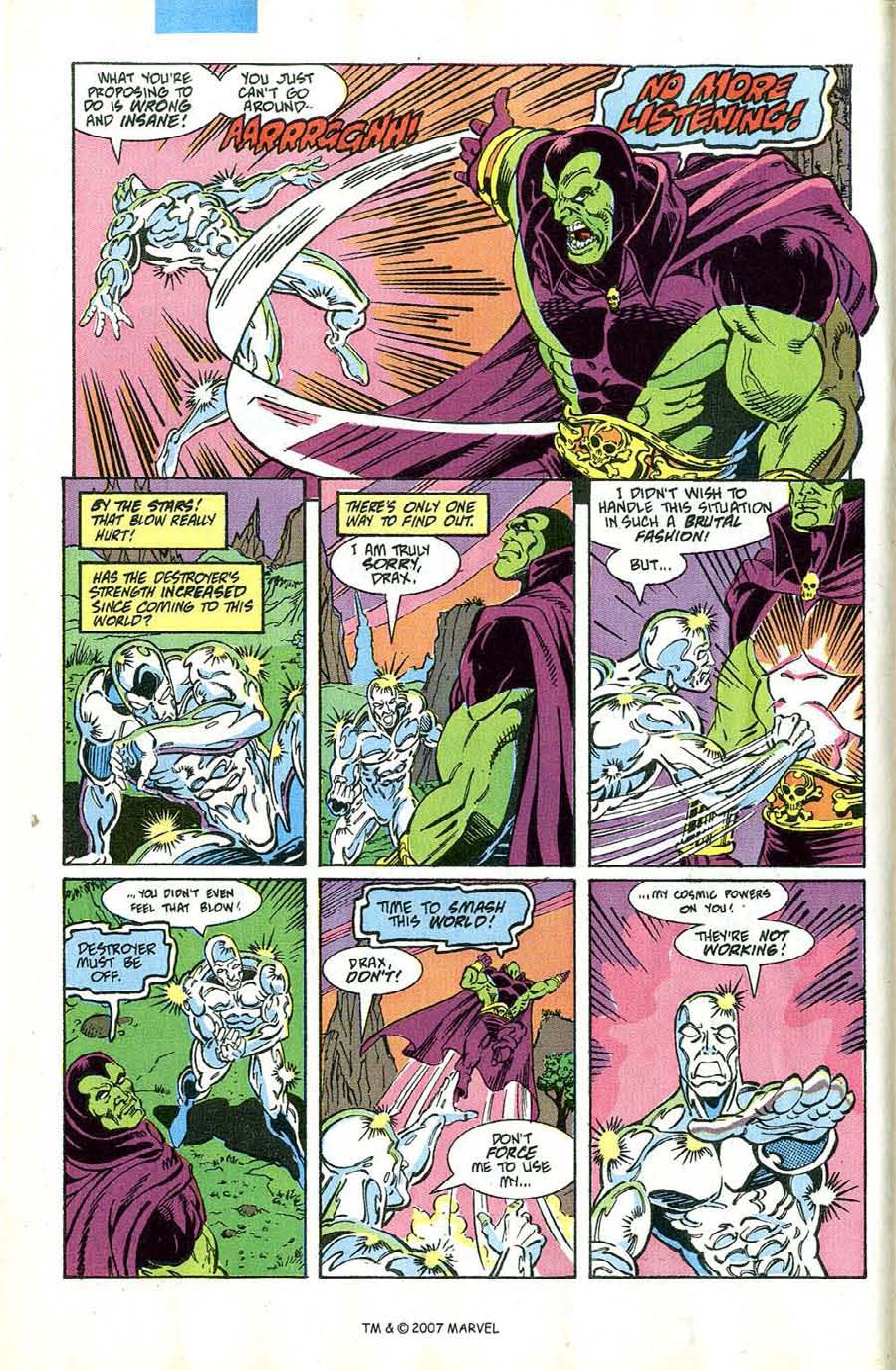 Read online Silver Surfer (1987) comic -  Issue #46 - 10