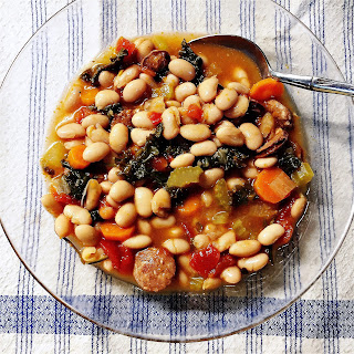 Tuscan white bean soup from Beth Fish Reads